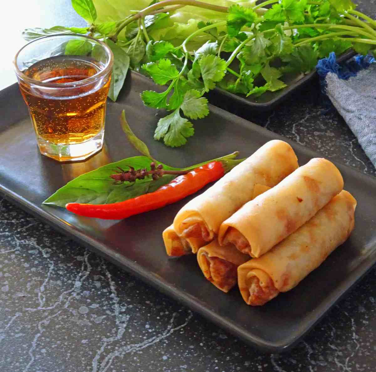 Vietnamese Fried Spring Rolls - Cha Gio