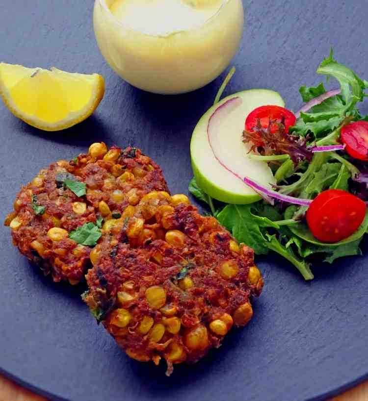 Chickpea fritters 1.1