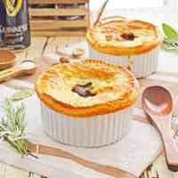 Pressure Cooker Steak and Guinness Pot Pies