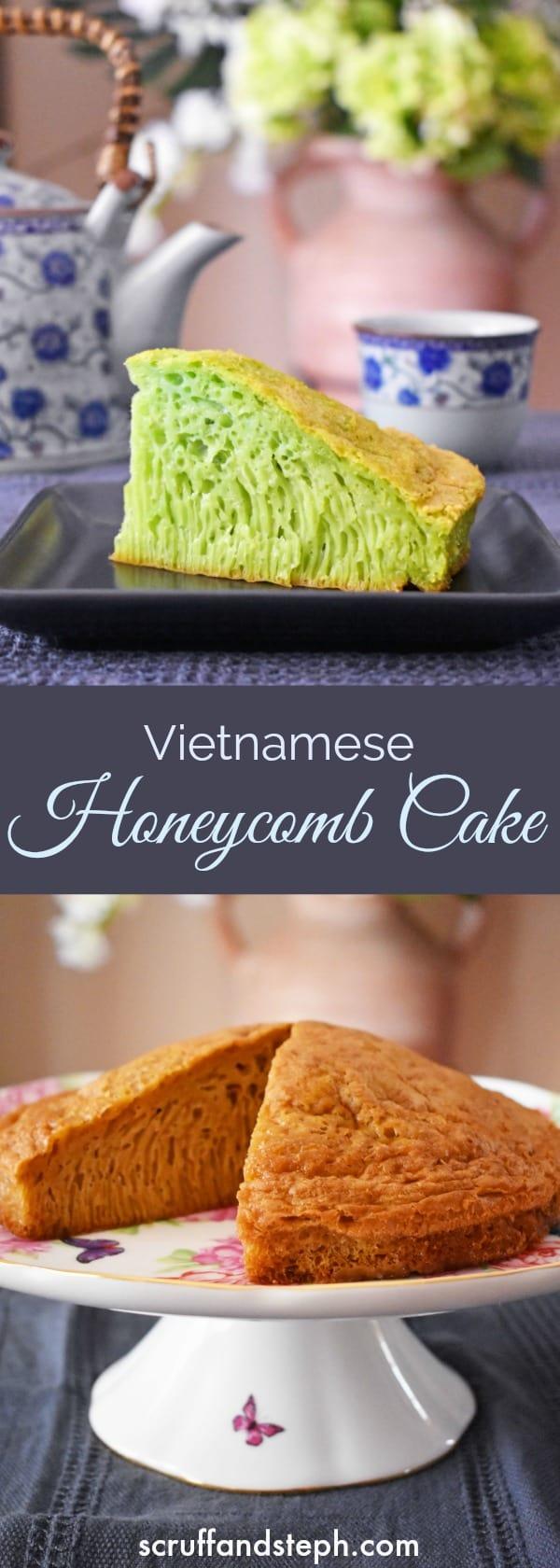 Vietnamese Honeycomb Cake - Banh Bo Nuong