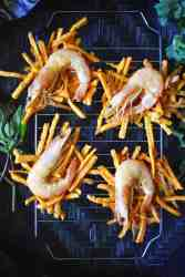 Prawn and Sweet Potato Fritters - Banh Tom