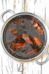 Soy Sauce Chicken Progress Shot 4