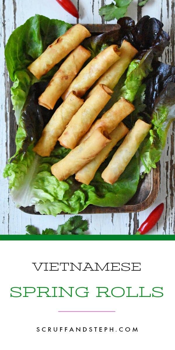 Vietnamese Spring Rolls - Cha Gio