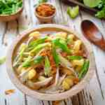 Vietnamese Chicken Pasta Soup
