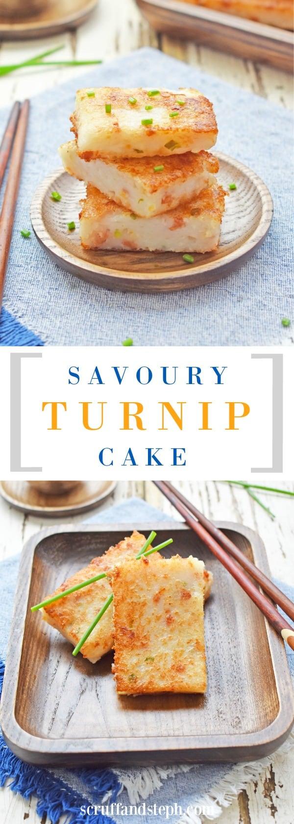 Turnip Cake / Banh Bot Chien (cheat version)