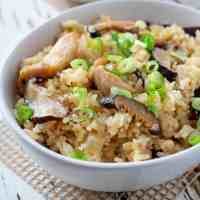Chicken and Mushroom Rice