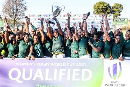 South Africa qualifies for the 2021 Women's Rugby World Cup
