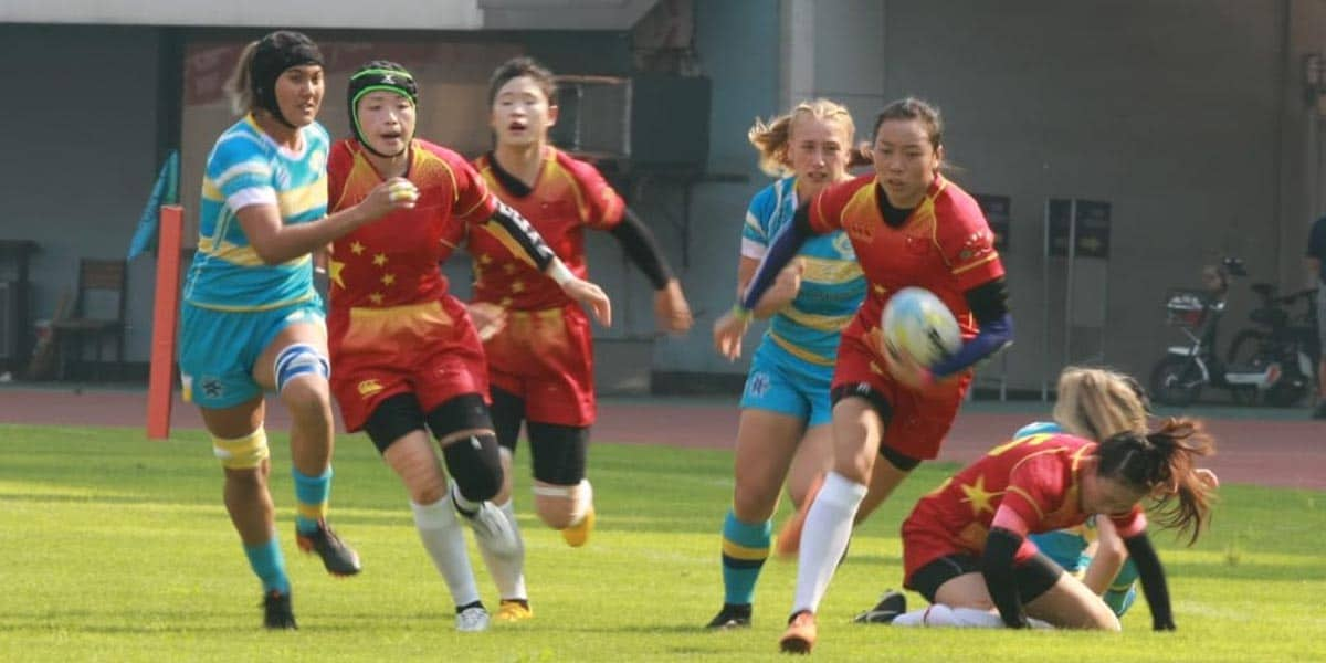 China beat Kazakhstan in Women's Rugby World Cup qualifier opener