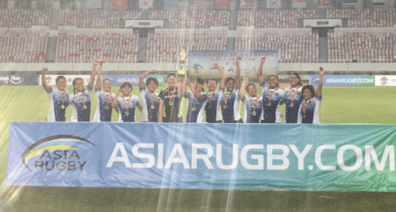Japan wins the second leg of the Asian Sevens