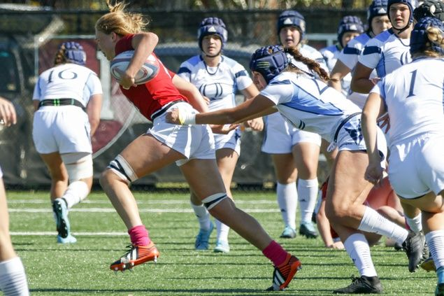 Harvard women's rugby dominates over Notre Dame