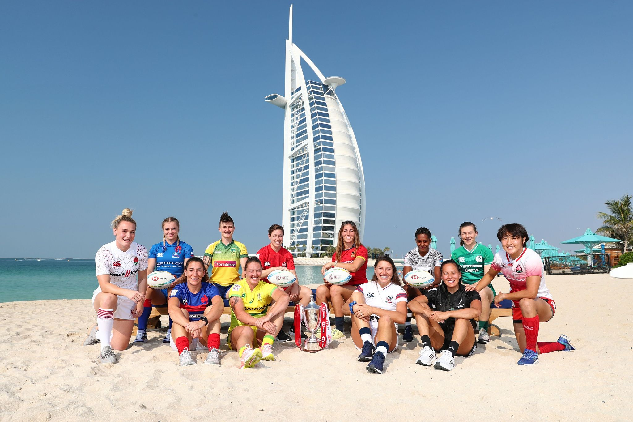 2019 Dubai 7s Women's Captains