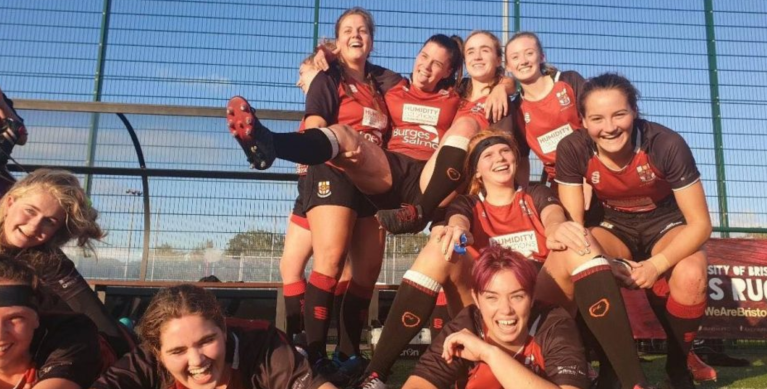 UoB Women's Rugby is officially the biggest women's university team in the UK