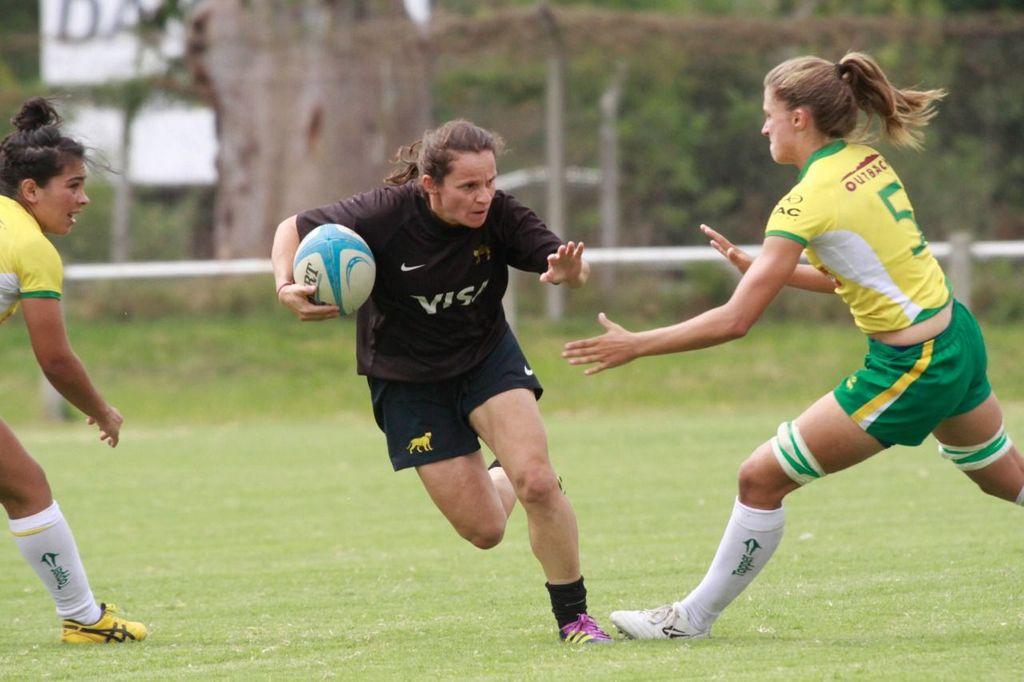 Argentina's Women's Rugby Player Lettizia Alcaraz
