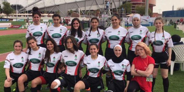 Mais Khoury plotting a course for female rugby coaches in Jordan