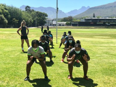 South Africa Xvs is in camp ahead of the 2021 Rugby World Cup