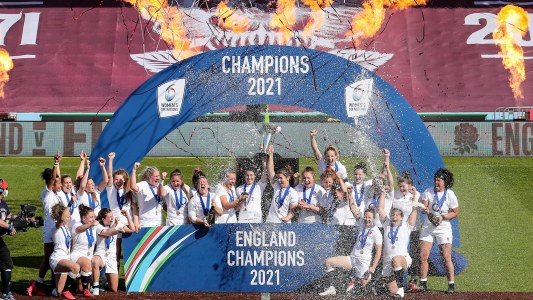 2021 Women's Six Nations Champions - England