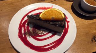 Vegan caramel slice - Henderson's Edinburgh