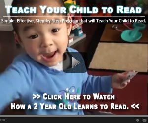 children learning reading baby text words