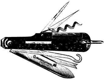 multi-blade pocket knife