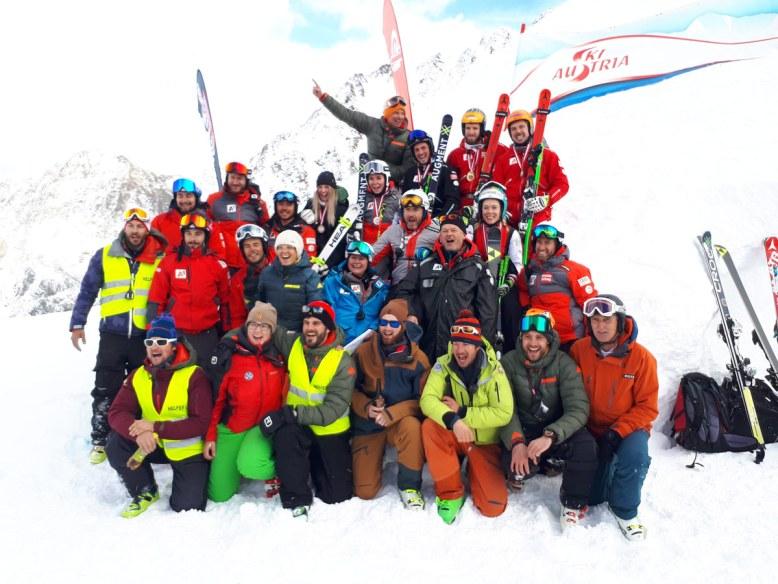 Gruppenfoto Skicross