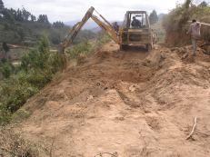 Lavori di manutenzione e adeguamento della strada che porta alla Centrale Elettrica