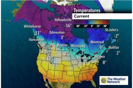 maps   scsjournal The Weather Network