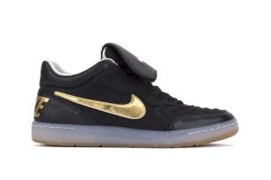 Nike Tiempo mid 94 black gold