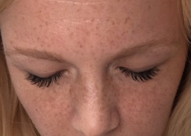 review babe lash after