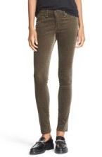 Rag + Bone Velvet Skinny Jeans