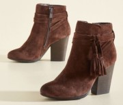 Modcloth Suede Bootie