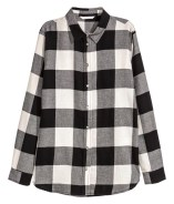 H&M Buffalo Check Flannel Shirt