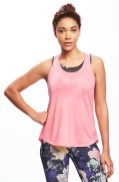Old Navy Go-Dry Cool Racerback Tank