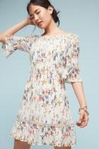 Anthropologie Leona Off-the-Shoulder Dress