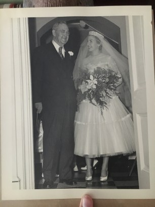 This is my grandmother, Sarah Camille, on her wedding day (circa 1940s).