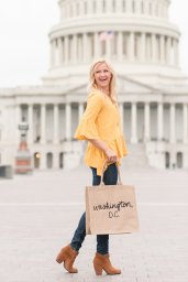 TLM's New D.C. Tote & 12 Ruffled Tops for the Holidays - SCsScoop.com