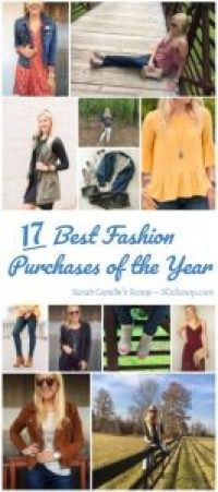 Best Fashion Purchases of the Year - Sarah Camille's Scoop - SCsScoop.com