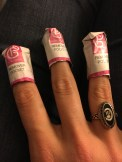I folded the remover pockets to they were snug around my fingers.