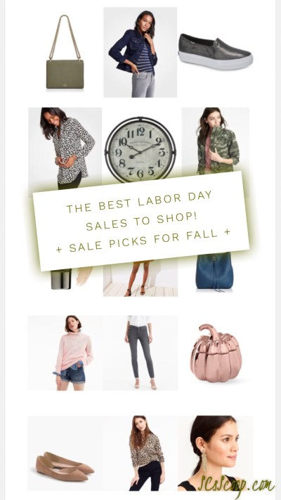The Best Labor Day Sales to Shop! Plus Sale picks for Fall - Style, Beauty & Home Good's - SCsScoop.com
