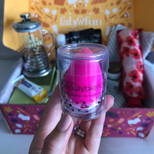 Beautyblender - FabFitFun Fall Box Review + $10 OFF Code - SCsScoop.com