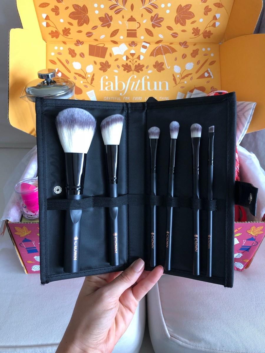 Crown Brush 6 piece Set - FabFitFun Fall Box Review + $10 OFF Code - SCsScoop.com
