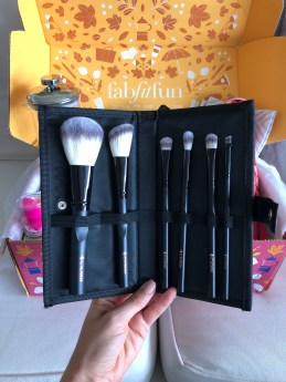 Crown Brush 6 piece Set - FabFitFun Fall Box Review + $10 OFF Code - SCsScoop.com