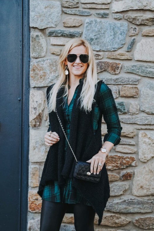 Shirt Dress Style Inspiration for Winter - SCsScoop.com