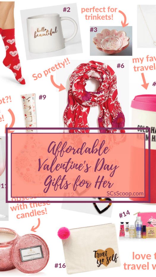 Affordable Valentine's Day Gift Ideas and a Galentine's Day Challenge - SCsScoop.com