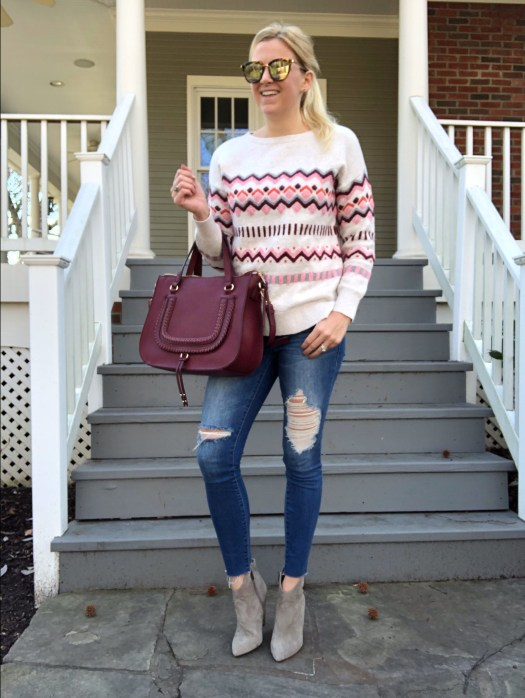 Affordable Fair Isle Sweaters for Winter Style Inspiration - SCsScoop.com