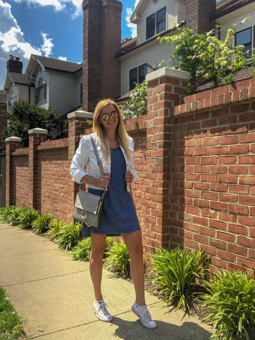 Three Benefits of Saying No - Affordable T-Shirt Dress - Sarah Camilles Scoop