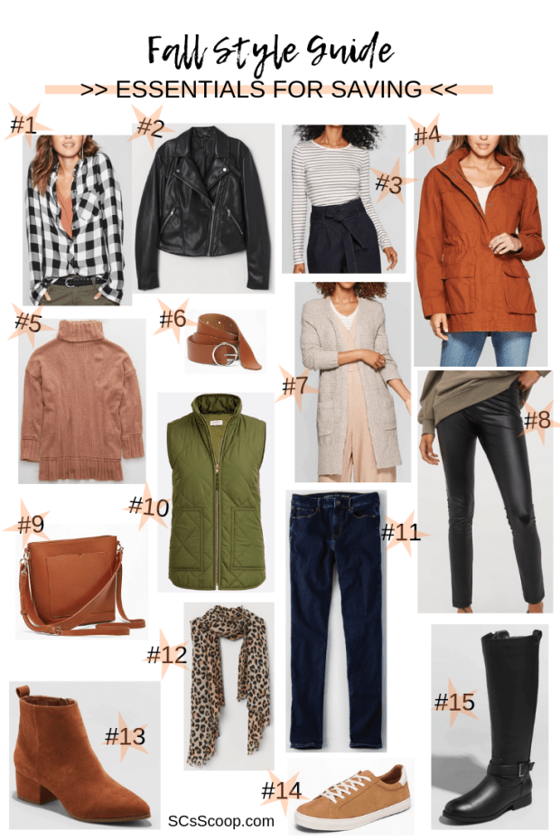 Fall Style Essentials for Saving - SCsScoop.com - Fall Style Guide | Fall Must-Haves | Fall Style Inspiration