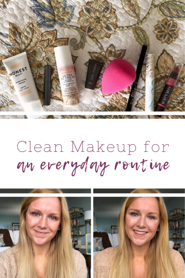 Clean Makeup for an Easy Everyday Routine - Makeup Routine - Clean Beauty and Safe Beauty Products - SCsScoop.com