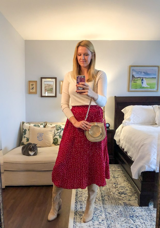 5 Holiday Outfit Ideas You Can Wear After the Holidays -- style inspiration for what to wear for Thanksgiving or any upcoming holiday parties -- SCsScoop.com