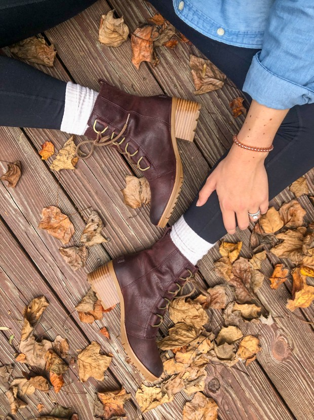 holiday gift idea - sorel waterproof boots