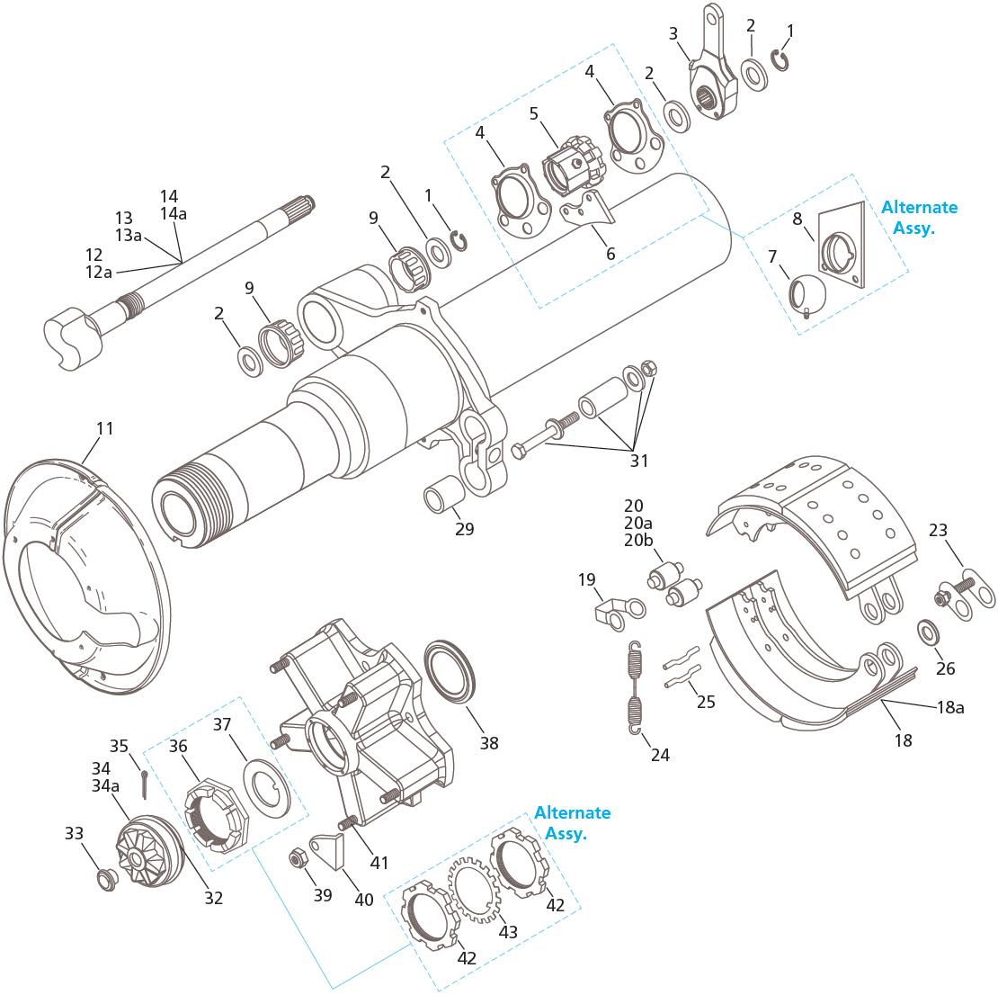 Fruehauf Pro Par Tp 16 5 X 7 Brake